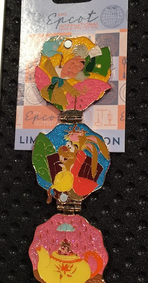 Mad Hatter Epcot Food & Wine 2017 Pin