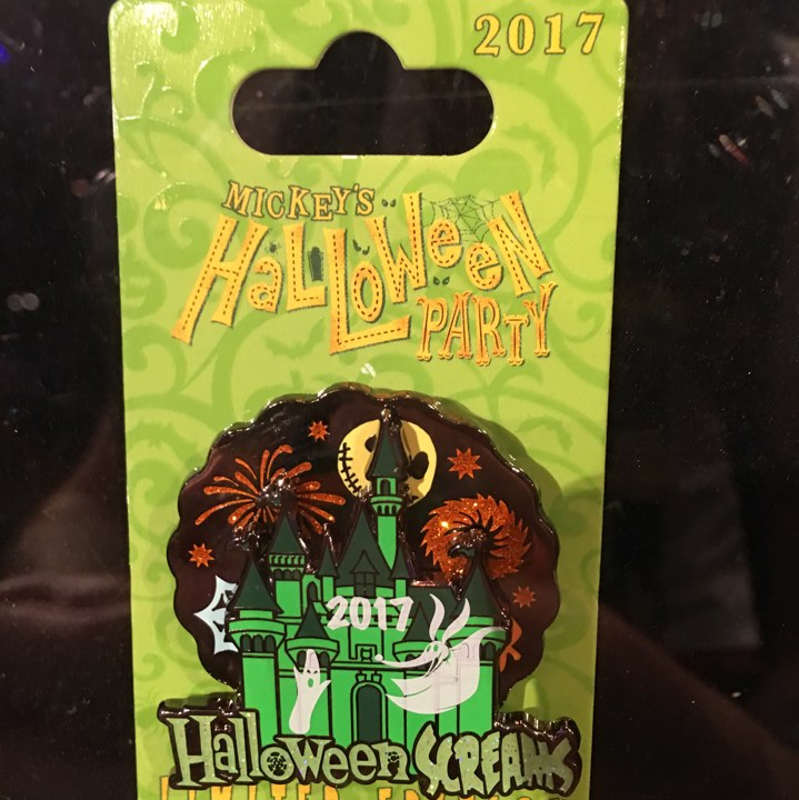 Mickey's Halloween Party Castle Pin 2017