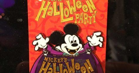 Mickey's Halloween Party Mickey Pin 2017