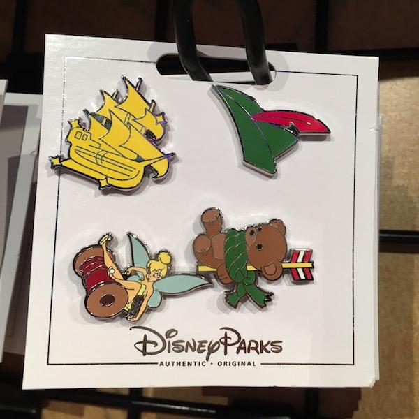 Peter Pan Pin Set