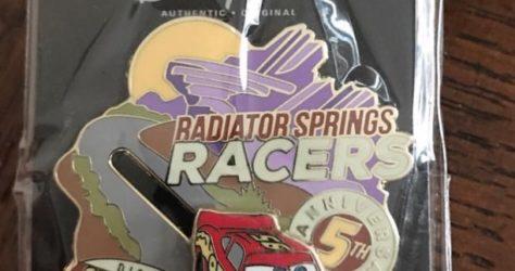 Radiator Springs Racers - Cast Member Pin
