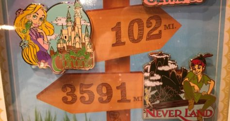 Rapunzel and Peter Pan Scavenger Hunt Pins - Love is an Adventure