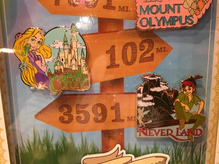Rapunzel and Peter Pan Scavenger Hunt Pins - Love is an Adventure