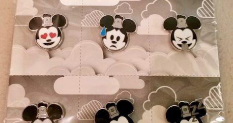 Steamboat Willie Emoji Pin Set