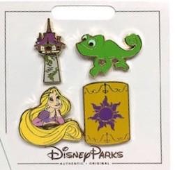 Tangled Princess Pin Set