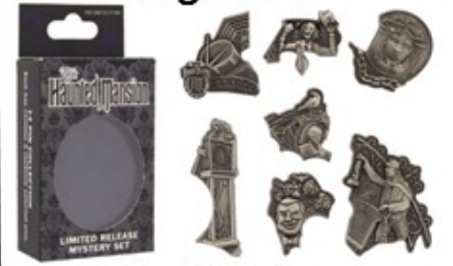 The Haunted Mansion Reveal Conceal Pin Set