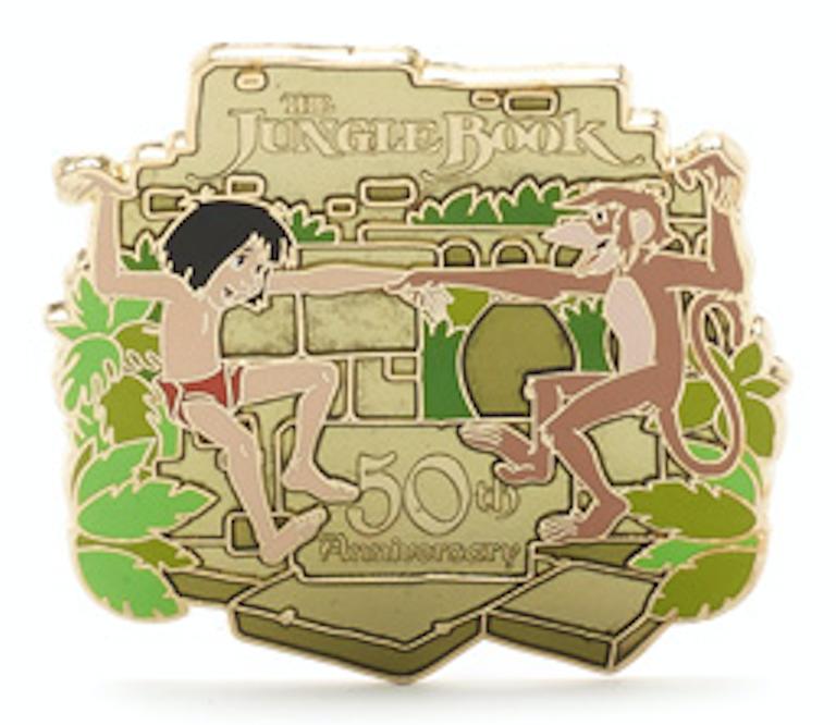 The Jungle Book 50th Anniversary Pin – Disney Store UK