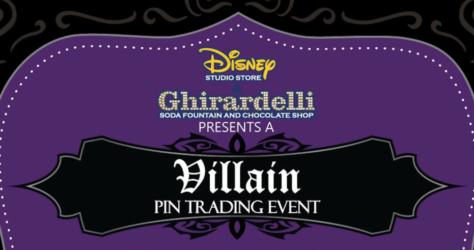 Villain Pin Trading Event