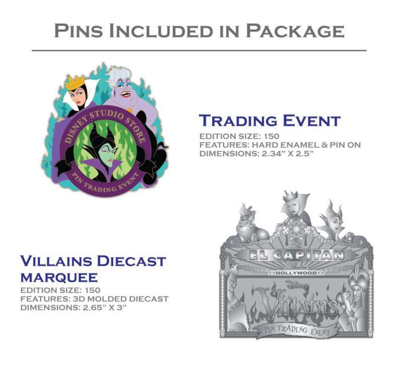Villain Pin Trading Event Pins