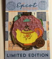 Alice is Wonderland Epcot Food & Wine Festival Pin