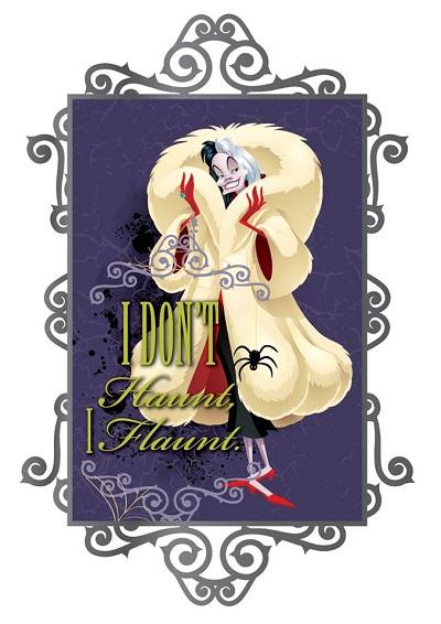 Cruella Diva Villain Series Acme Pin