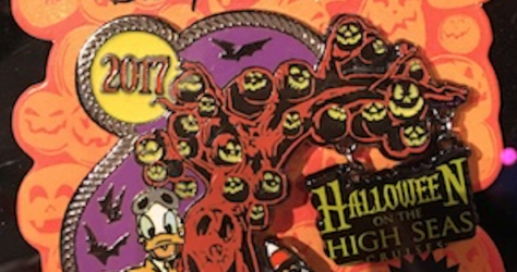 DCL Halloween 2017 Pin