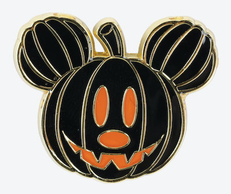 Mickey Mouse Pumpkin Enamel Pin