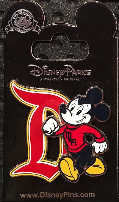 Disneyland Mickey Pin