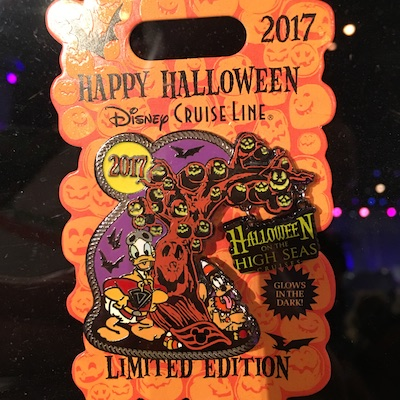 Halloween on the High Seas 2017 Pin