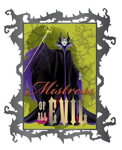 Maleficent Diva Villain Series Acme Pin