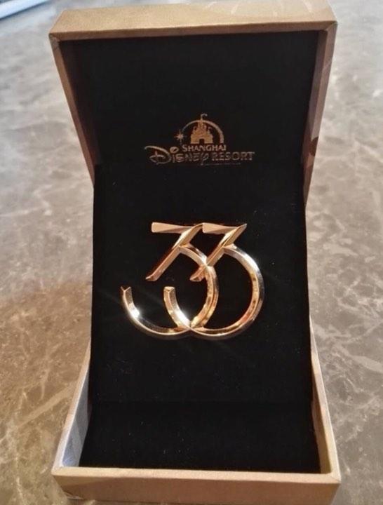Shanghai Disney Resort Club 33 Pin