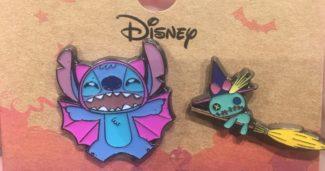 Stitch Halloween Pin Set - BoxLunch