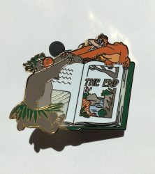 The End Jungle Book Pin