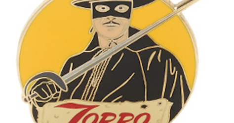 Zorro 60th Anniversary Pin - Disney Store UK