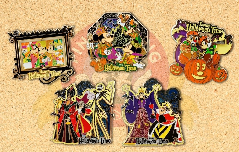 2017 Halloween Disney Friends Limited Edition Pins