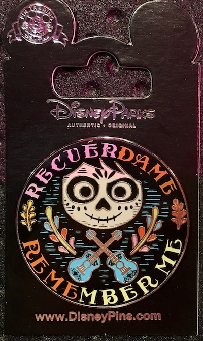 Coco Remember Me Disney Pin