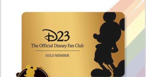 D23 Gold Member Gift Pin