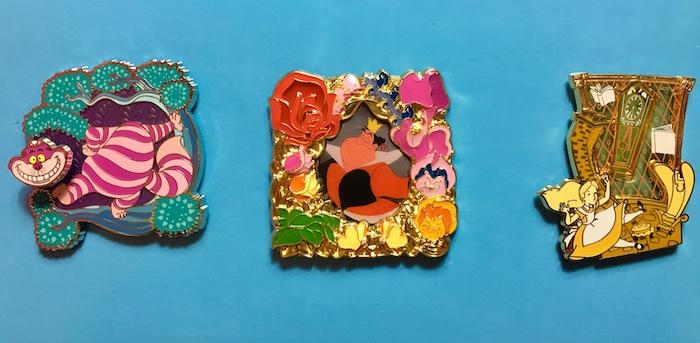 Disney Park Pack Alice in Wonderland Pins