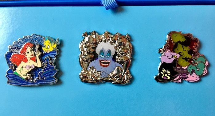Disney Park Pack The Little Mermaid Pins
