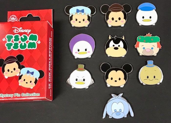Disney Tsum Tsum Holiday Mystery Pins