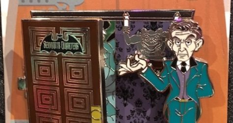 Doorways to Disney Haunted Mansion Pin