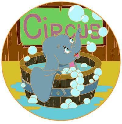 Dumbo's Bubble Bath ACME Golden Magic Pin