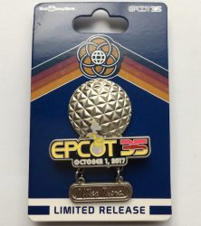 Epcot 35th I Was There Pin