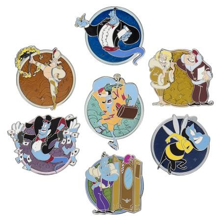 Genie Mystery Pin Set