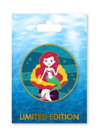 Greetings From Under the Sea Ariel ACME Pin