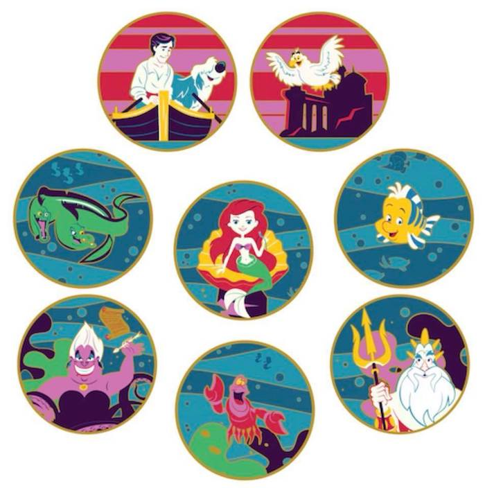 Greetings from Under the Sea Pin Set