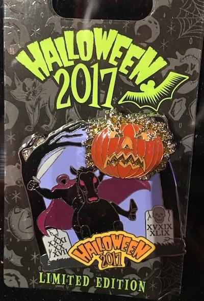 Halloween 2017 Disney Pin