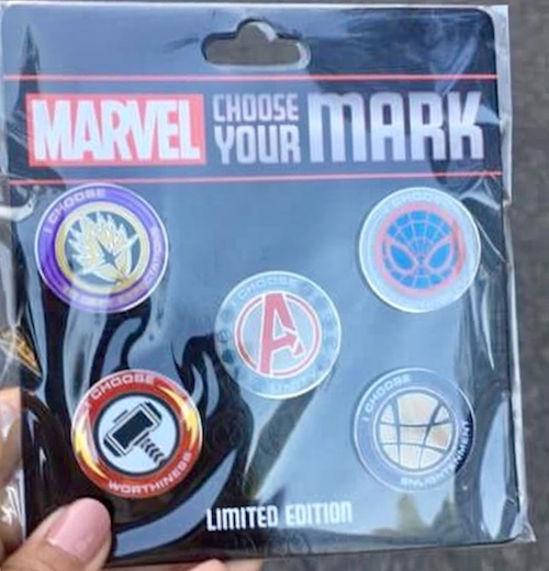 Marvel Annual Passholder Pin Set