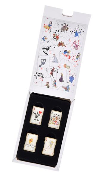 Playing Card Pin Set Japan