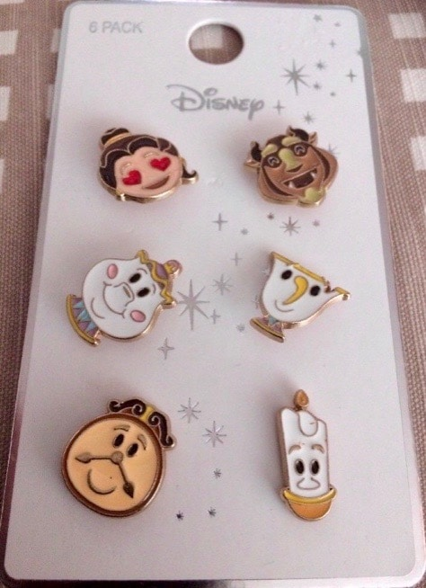 Primark Beauty and the Beast Disney Pins