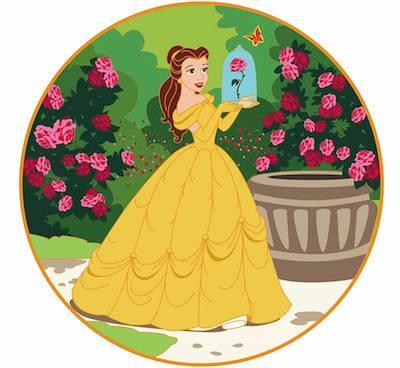 Rose Garden ACME Golden Magic Pin