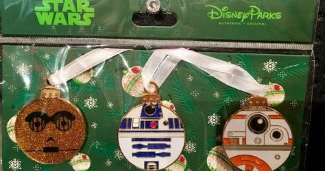 Star Wars Droid Ornament Pin Set