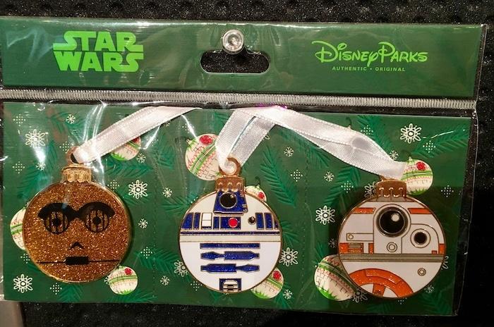 Star Wars Droid Ornament Pin Set