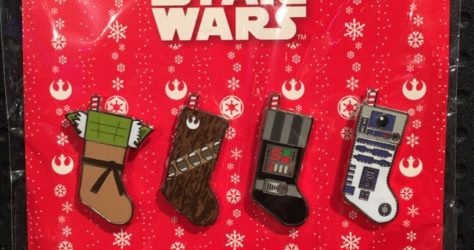 Star Wars Stocking Pin Set