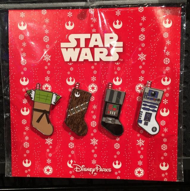 Star Wars Stocking Pin Set