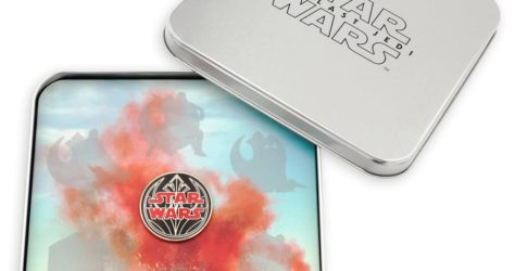 Star Wars The Last Jedi Limited Edition Pin Collector Tin