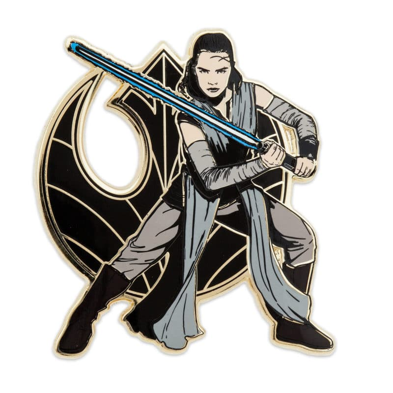Star Wars The Last Jedi Rey Pin