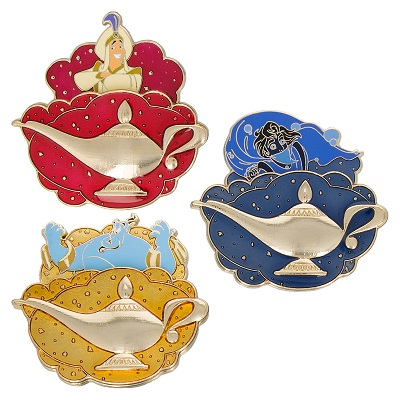Three Wishes Box Pin Set