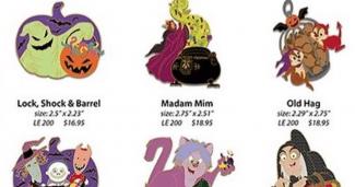 WDI Halloween Disney Pins 2017