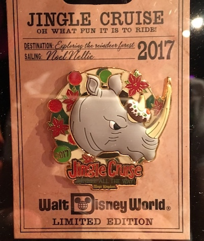 WDW Jingle Cruise 2017 Pin